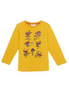 Yellow T-shirt GOBRUTEE4 / 19W902K1TMLB107