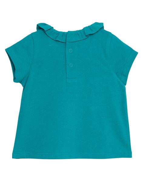 Green Baby blouse JIJOBRA8 / 20SG09T3BRA621