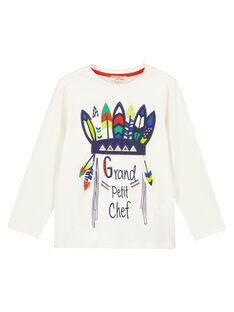 Dark off white T-shirt GOVIOTEE3 / 19W902R3TML003