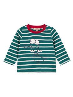 Green T-shirt GUJOTIRAY1 / 19WG1045TML608
