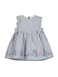 Baby girls' dress FINEROB1 / 19SG09B1ROB703
