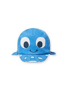 Baby boy blue cap LYUCASQ / 21SI10D1CHAC238