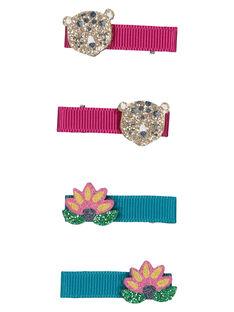 Set of girls' hair clips GYAMUCLIC1 / 19WI0178BRT955
