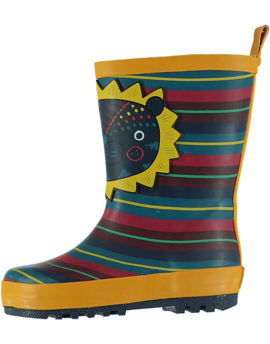 Yellow Rain boots GBGBPRAY / 19WK38G2D0C010
