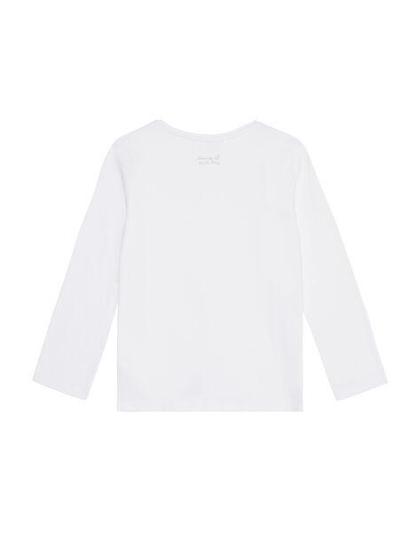 White Longsleeve T-SHIRT JAESTEE1 / 20S90161D32000