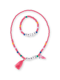 Set of 2 necklaces child girl LYANAUSET / 21SI0171CLIF507