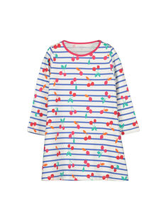 Girls' cotton nightdress FEFACHUCE / 19SH1142CHN099