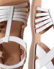 White Sandal FFSANDOLI3 / 19SK35C8D0E000