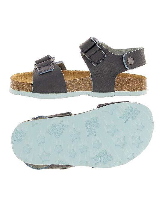 Boys' leather sandals CGNUBICO / 18SK36W5D0E070