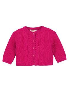 Pink Cardigan GIVIOCAR1 / 19WG09R2CARD320