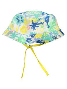 Baby boys' floral hat FYUCUCHA / 19SI10N1CHA099