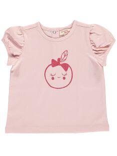 Baby girls' short-sleeved T-shirt CIJOTI4B / 18SG09R5TMC321