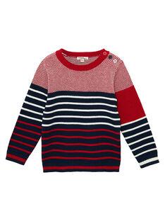 Red Pullover JOJOPUL3 / 20S90242D2EF505