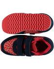 Red Sneakers GFBASROU / 19WK35I2D3F050