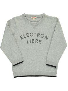 Grey Pullover DOJOPUL1 / 18W90231D2EJ908
