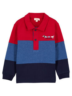 Red Polo shirt GOTRIPOL / 19W902J1POL050