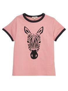 Light rose T-shirt JODUTI5 / 20S902O5TMC318