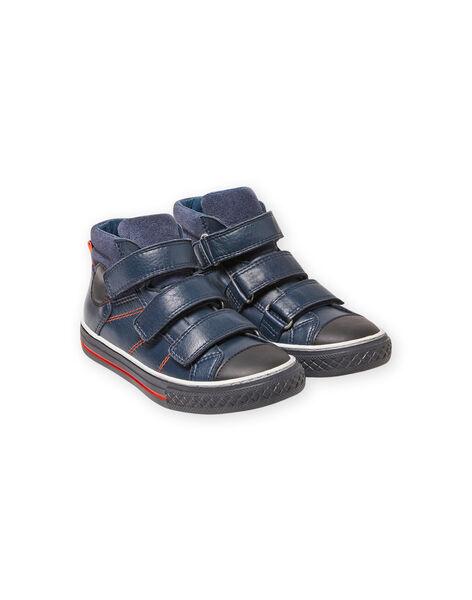 Baby boy navy blue sneakers MOBASTRIVNAVY / 21XK3653D3F070