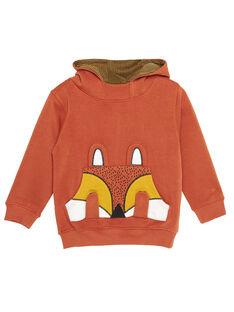 Dark orange Sweat Shirt GOBRUSWE / 19W902K1SWE408