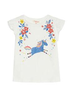 Off white T-shirt JAGRATIEX / 20S901E3TMC001