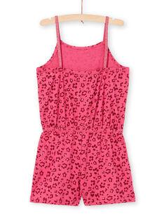 Sequined leopard print jumpsuit with thin straps LAPLACOMB4 / 21S901T1CBL030