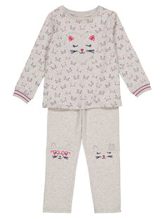 Heather grey Pajamas GEFAPYJCHA / 19WH1157PYJ943