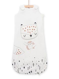 Mixed baby sleeping bag with fox and hedgehog design MOU1GIG / 21WF4241TUR001
