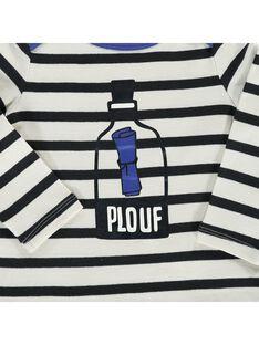 Baby boys' long-sleeved T-shirt CUBENTEE / 18SG10G1TML099