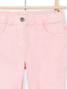 Girl's pink jegging MAJOJEG3 / 21W90112PAN309