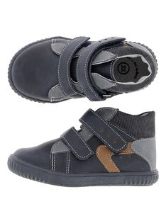 Baby boys' leather city trainers. DBGBASBEL2 / 18WK38T2D3F070
