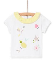 White BABY BLOUSE LIBALBRA / 21SG09O1BRA000