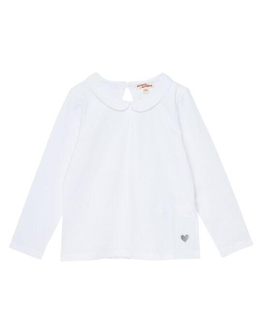 White baby blouse JAESBRA4 / 20S90164D3A000
