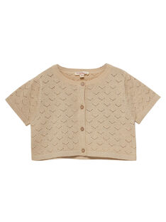 Light gold Cardigan JASOCAR / 20S90181CARK008