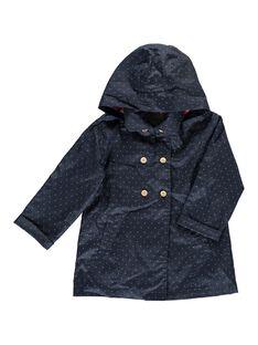 Navy Rain coat CAKLEIMPER / 18S901D1IMP070