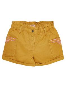 Yellow Shorts JADUSHORT3 / 20S901O2SHOB107