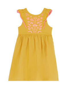 Yellow Dress JADUROB1 / 20S901O3ROBB107