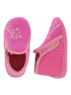 Baby girls' boot slippers DBFBOTGIR / 18WK37W1D0A304