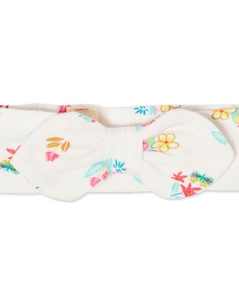 Headband ecru baby girl LYIVERBAN / 21SI09Q1BAN001