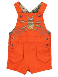 Baby boys' short dungarees FUYESAC / 19SG10M1SAC400