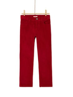 Red PANTS KOJOPAVEL4 / 20W90254D2BF508