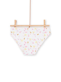 Set of 3 pink and yellow panties for children and girls LEFALOTJAU / 21SH11G1D5L000