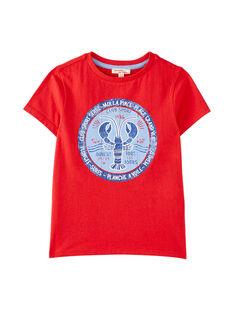 Red T-shirt JOCEATI6 / 20S902N4TMCF524