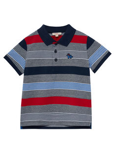 Navy Polo shirt JOGRAPOL / 20S902E1POL705