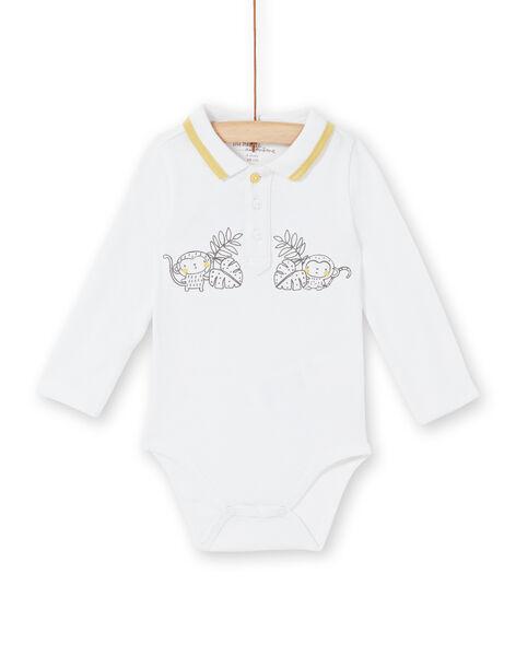 White body with polo collar birth boy LOU1BOD5 / 21SF04H1BOD000