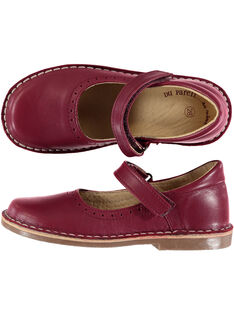 Burgundy Salome shoes GFBABPERFL / 19WK35E1D13719