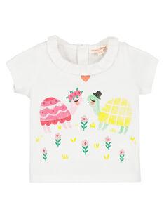 Baby girls' printed T-shirt FIYEBRA / 19SG09M1BRA000