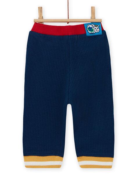 Baby Boy's Midnight Blue Contrast Pants MUMIXPAN1 / 21WG10J2PAN713