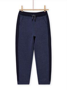Boy's blue and navy blue jogging suit MOJOJOB4 / 21W90213JGB222