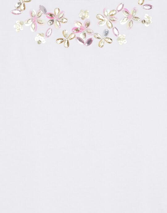 White T-shirt JABOTI2 / 20S901H3TMC000