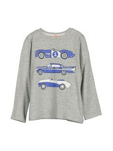 Grey Longsleeve T-SHIRT FOJOTEE5 / 19S90235D32J908